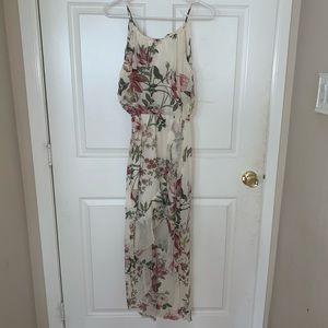 Sweet Storm Floral Dress